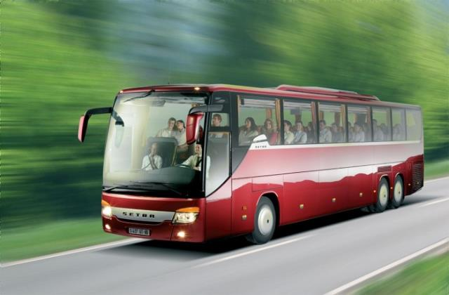 В европу на автобусе новый год