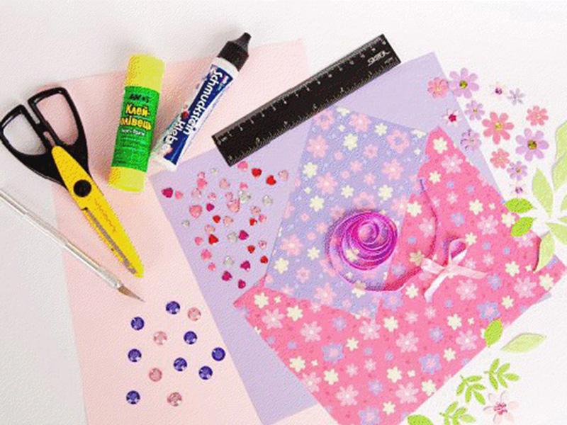 Инструменты для создания открыток