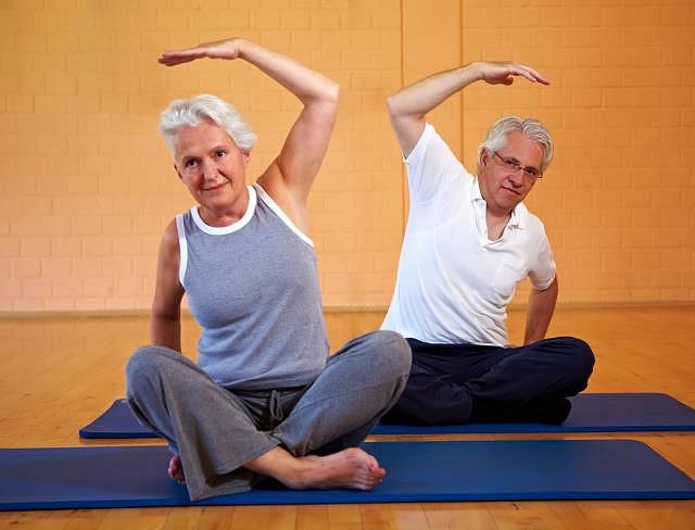 гимнастика для суставов для пожилых
